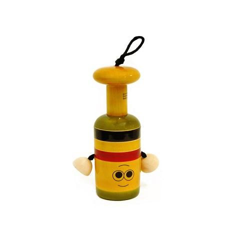Buy Fairkraft Colourful Wooden Bell Rattle - GiftWaley.com
