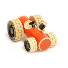 Load image into Gallery viewer, Buy Fairkraft Colourful Wooden Tractor Push Toy - Trako - GiftWaley.com