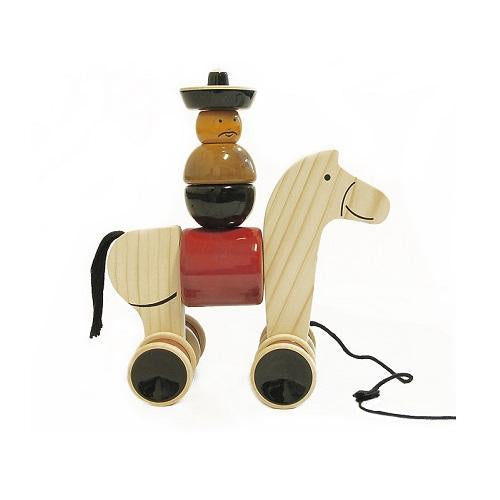 Buy Fairkraft Wooden Build And Play Colourful Horse Toy - Hee Haw - GiftWaley.com