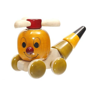 Buy Fairkraft Wooden Build And Play Push Toy - Chip Chop - GiftWaley.com