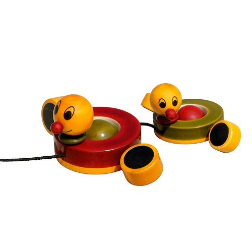 Buy Fairkraft Wooden Pull Toy - Duby And Duba - GiftWaley.com