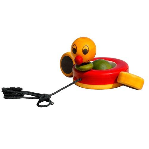 Buy Fairkraft Wooden Pull Toy - Duby Duck - GiftWaley.com