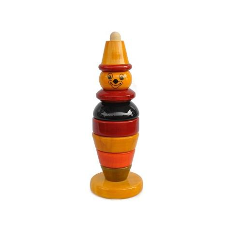 Buy Fairkraft Wooden Stacker For Eye-Hand Co-Ordination - Bibbo - GiftWaley.com