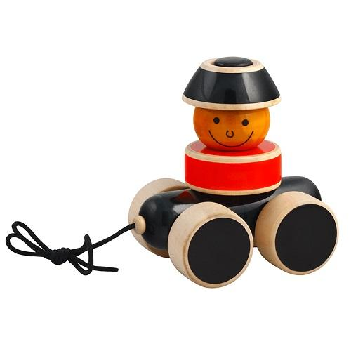Buy Fairkraft Wooden Stacker On Wheels - Go Go - GiftWaley.com