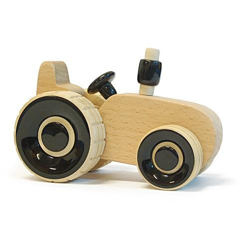 Buy Fairkraft Wooden Tractor Push Toy - Ippu Tractor - GiftWaley.com