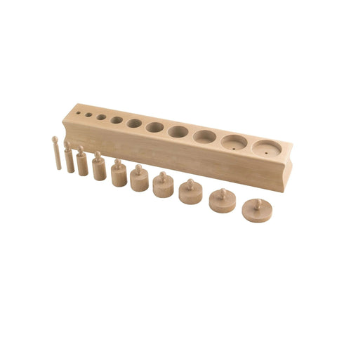 Buy HABA Cylinder Blocks - Set 2 Montessori Material - GiftWaley.com