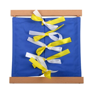 Buy HABA Frame Bow Tying Montessori Material - GiftWaley.com