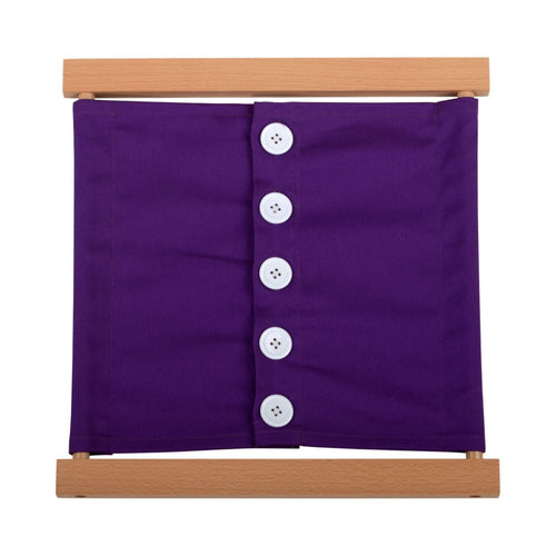 Buy HABA Frame Large Buttons Montessori Material - GiftWaley.com