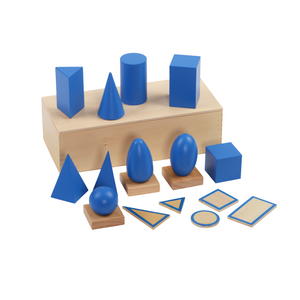 Buy HABA Geometric Solid with Stands Montessori Material - GiftWaley.com