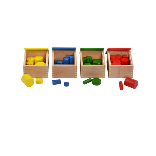 Buy HABA Knobless Cylinders Montessori Material - GiftWaley.com
