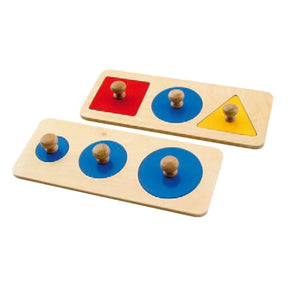 Buy HABA Multiple Shape Puzzles Montessori Material - GiftWaley.com