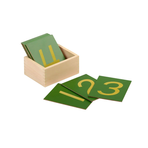 Buy HABA Sandpaper Numerals Montessori Material - GiftWaley.com
