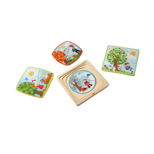 Buy HABA Seasons of The Year Puzzle Game - GiftWaley.com
