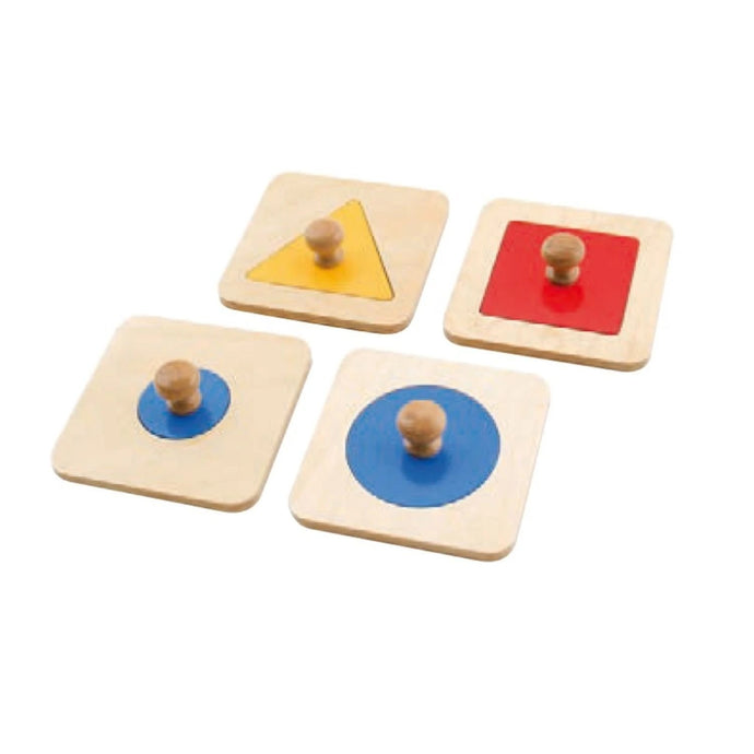Buy HABA Single Shape Puzzles Montessori Material - GiftWaley.com