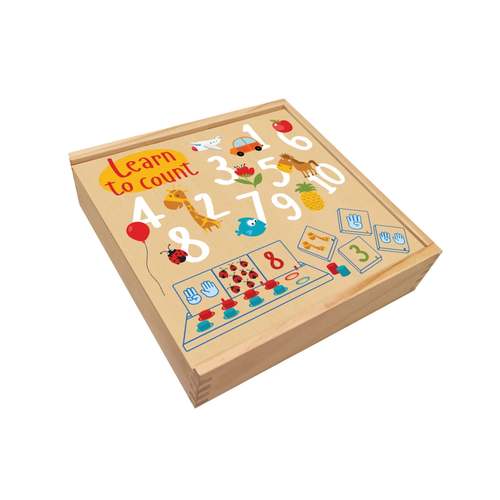 Buy HABA Wooden Box for Quantity and Numbers Learning - GiftWaley.com