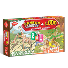 Load image into Gallery viewer, Buy Kaadoo 2-in-1 Board Game Crocs & Giraffes - GiftWaley.com