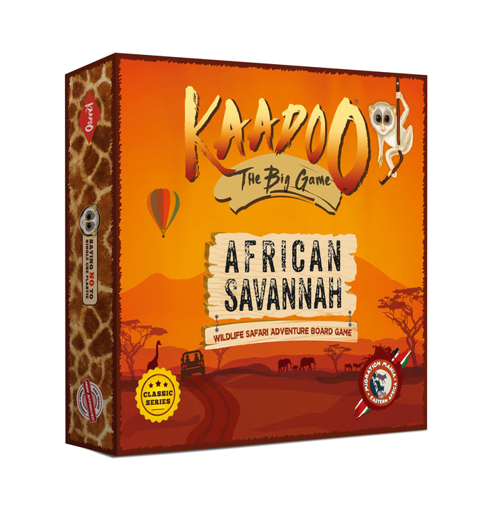 Buy Kaadoo African Savannah Jungle Safari Board Game - GiftWaley.com