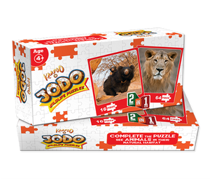Buy Kaadoo Jodo 2-in-1 Puzzle Game Lion + Sloth Bear - GiftWaley.com