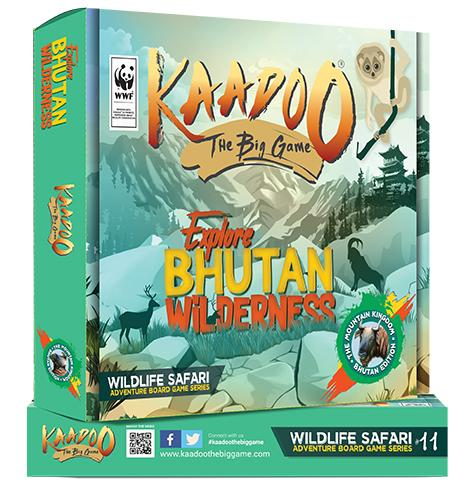 Buy Kaadoo Wild Bhutan Jungle Safari Board game - GiftWaley.com