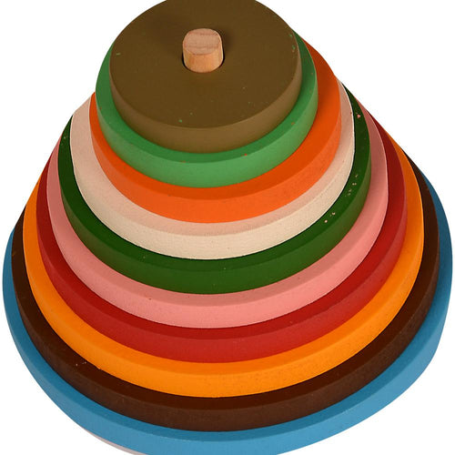 Buy Kidken Circle Pyramids Stacker - GiftWaley.com
