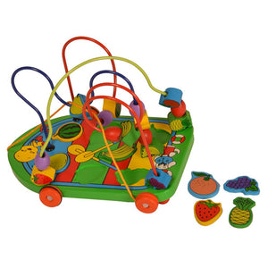 Buy Kidken Colourful Fruits Bead Wooden Toy - GiftWaley.com