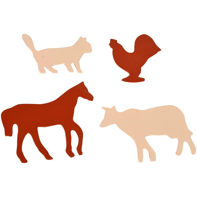 Buy Kidken Domestic Animals Learning Stencils - GiftWaley.com