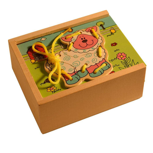 Buy Kidken Farm Animal Stringing Activity Game - GiftWaley.com