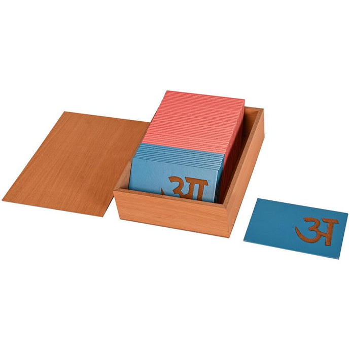 Buy Kidken Hindi Sandpaper Letters - GiftWaley.com