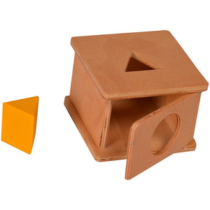 Buy Kidken Imbucare Box Triangle Hole Wooden Toy - GiftWaley.com