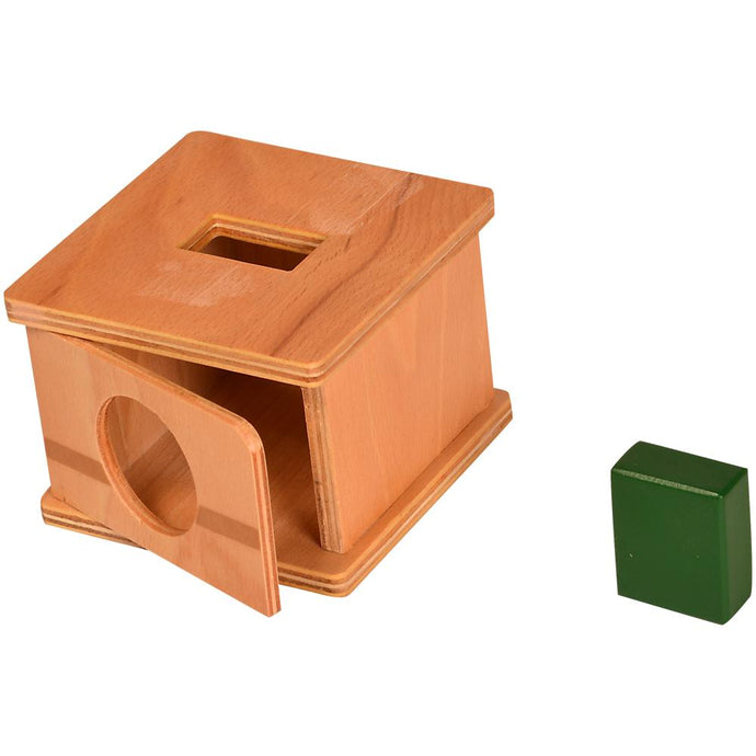 Buy Kidken Imbucare Box With Rectangular Hole Wooden Toy - GiftWaley.com