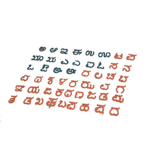 Buy Kidken Kannada Alphabets Board Cut Out - GiftWaley.com