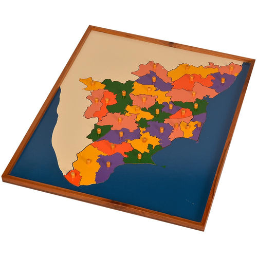 Buy Kidken Mapology of Tamil Nadu Map learning Board - GiftWaley.com