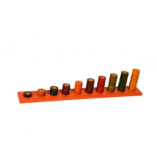 Buy Kidken Montessori 1 To 10 Counting Learning Rings - GiftWaley.com