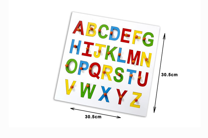 Buy Kidken Montessori Alphabet Capital ABC Letter Insert Learning Board - GiftWaley.com