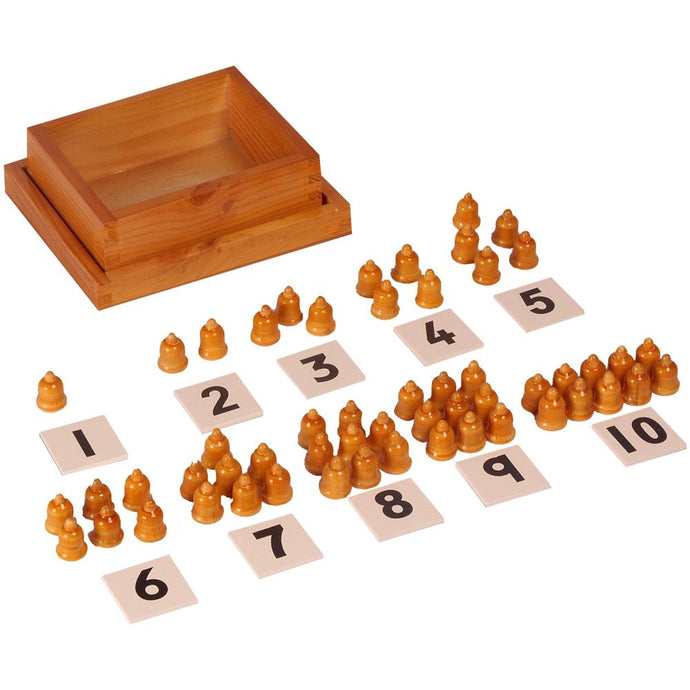 Buy Kidken Montessori Cards and Counter Learning Box - GiftWaley.com