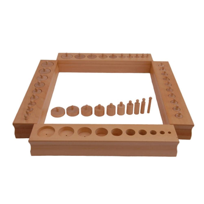 Buy Kidken Montessori Cylinder Learning Blocks - GiftWaley.com