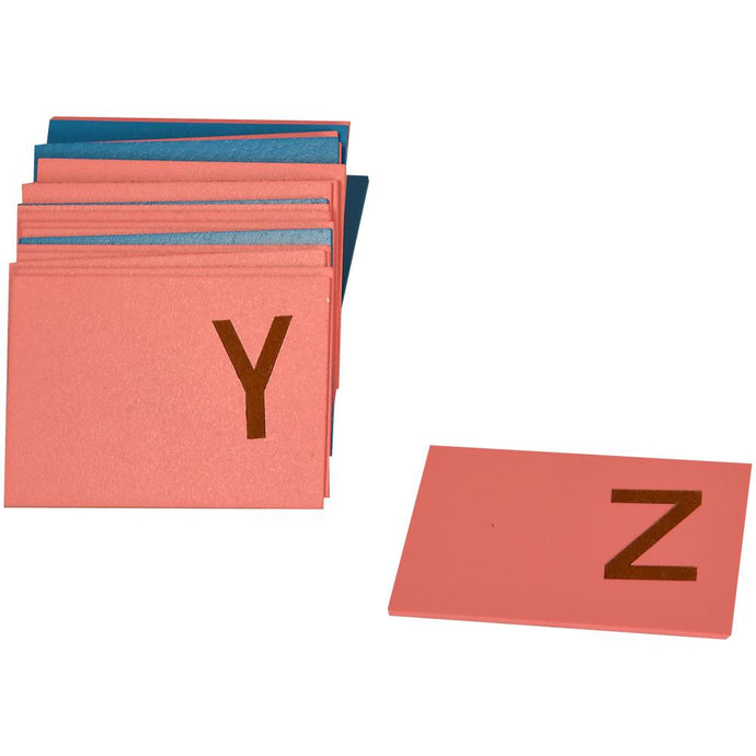 Buy Kidken Montessori English Capital Letter Tracing Sandpaper - GiftWaley.com