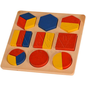 Buy Kidken Montessori Fraction Learing Board - Thin - GiftWaley.com