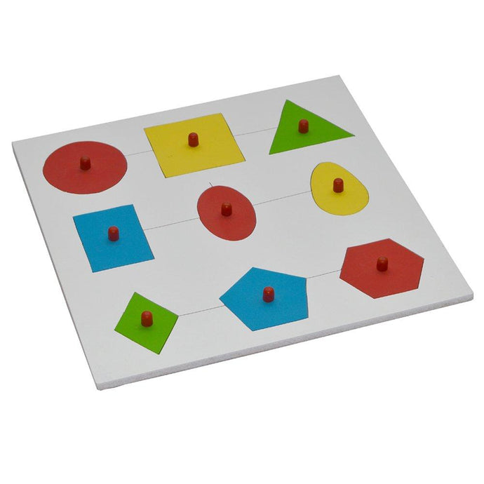 Buy Kidken Montessori Geometric Shape Insert Learning Board - GiftWaley.com