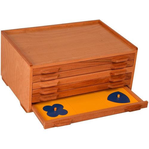 Buy Kidken Montessori Geometrical Cabinet Learning Set - GiftWaley.com