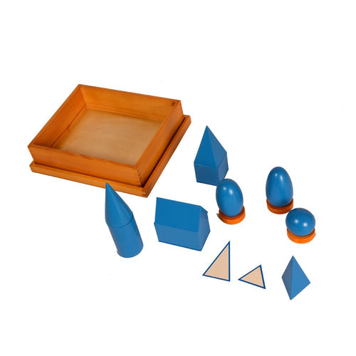 Buy Kidken Montessori Geometrical Solids Kids Early Educational Wooden Box - GiftWaley.com