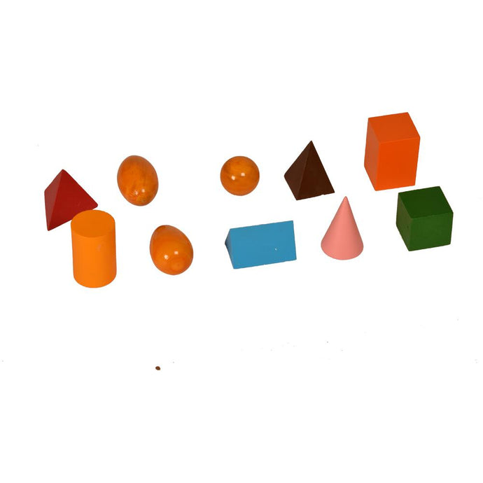 Buy Kidken Montessori Geometrical Solids Learning Shapes - GiftWaley.com