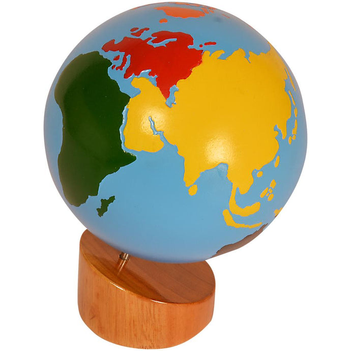 Buy Kidken Montessori Globe Continent Learning Board - GiftWaley.com
