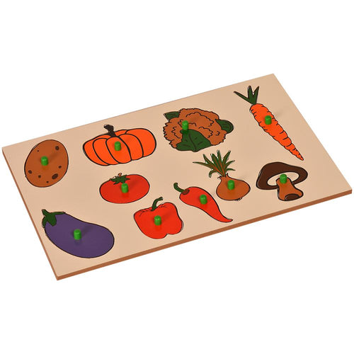 Buy Kidken Montessori Insert Board Learning Board - Fruits - GiftWaley.com