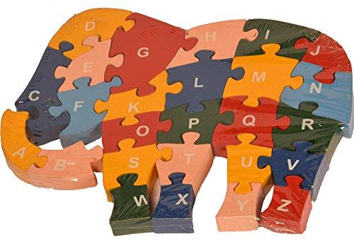 Buy Kidken Montessori MDF Puzzle Game - Elephant - GiftWaley.com