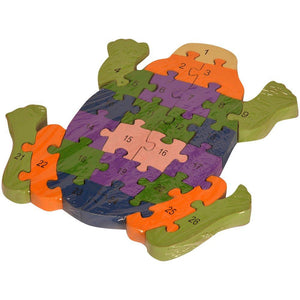 Buy Kidken Montessori MDF Puzzle Game - Tortoise - GiftWaley.com