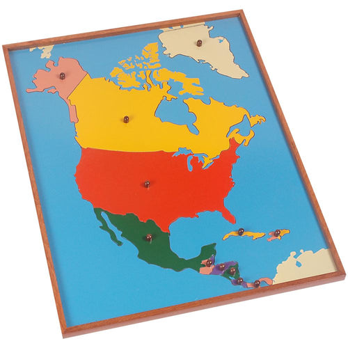 Buy Kidken Montessori North American Map Learning Board - GiftWaley.com