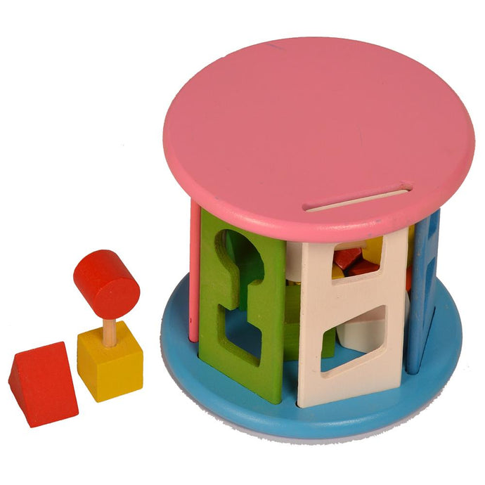 Buy Kidken Montessori Pinjara Posting Wooden Toy - GiftWaley.com