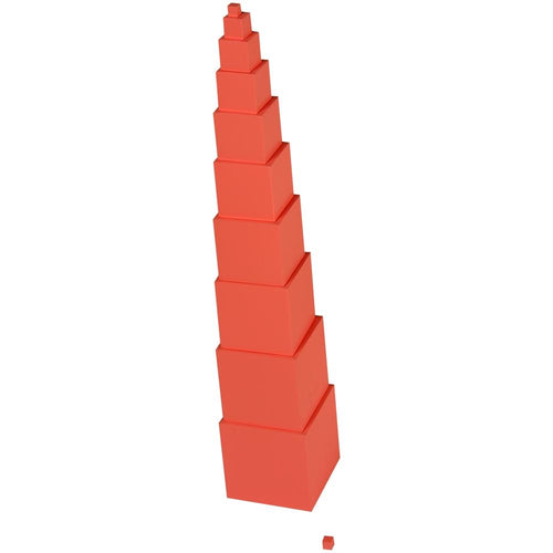 Buy Kidken Montessori Pink Tower Stacker Toy - GiftWaley.com