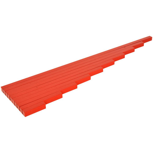 Buy Kidken Montessori Rods Wooden Toy (Red) - GiftWaley.com